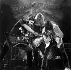 """This GREAT Picture Of """"ORIGINAL"""" MOLLY HATCHET Members ... Dave Hlubek (Guitar), Duane Roland (Guitar) & Danny Joe Brown (Harmonica) JAMMIN' OUT During The FLIRTIN' WITH DISASTER Tour 1979 - 1980!! ** THESE BOYS KNEW WHAT IT WAS ALL ABOUT!! NO POSERS HERE!!! This is one awesome photo!!!!!"""