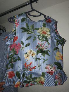Blusa con estampado mixto y aberturas en los hombros | SHEIN España Botanical Prints, Printed Blouse, No Frills, Men