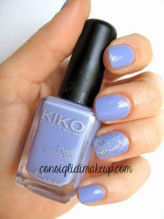Consigli di Makeup: NOTD: Kiko - 338 Lavanda Chiaro