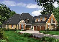 Rustic European With Vaulted Spaces. 3600 SF.