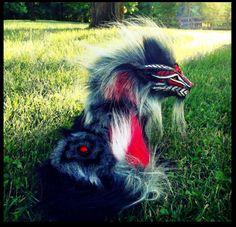 --SOLD--Poseable Fantasy Royal Guardian Lion! by Wood-Splitter-Lee.deviantart.com on @deviantART