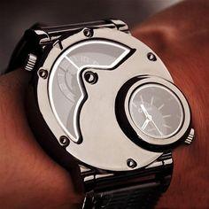 Stan vintage watches — Mens Watch Steampunk Wrist Mechanical Watch - Anniversary Gifts for Men (WAT0099-Black) (WAT0066)