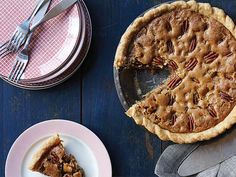 Pecan Pie - no corn syrup. Make a double batch if using larger pie plate