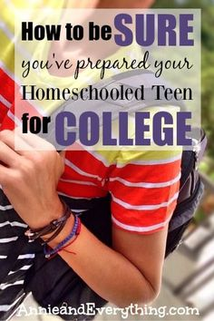 Are you wanting to homeschool high school but afraid you won't give your teen enough college preparation? This fear does not need to stop you! Read to see how you can be SURE you're doing enough to prepare your student for college.