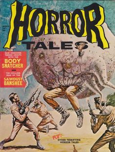 Cover for Horror Tales (Eerie Publications, 1969 series) #v3#2