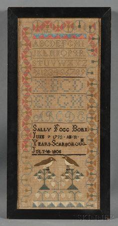 Sally Fogg Born June 9 1795/AE 11 Years/Scarborough July 18 1808, Cumberland County, Maine