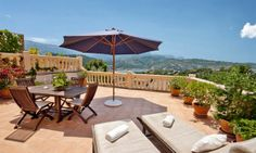 Nice property with large terrace in Sóller
