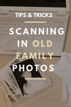 Photo Scan, Photo Art, Foto Fun, Old Family Photos, Old Photos, Photo Restoration, H & M Home, Photo Storage, Family Organizer