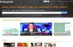 Knowmia, directorio y buscador con alrededor de 7000 vídeos educativos.-