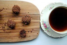 Daddelkugler m. Chokolade og appelsin