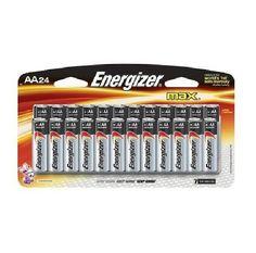 Energizer - E91BP-24 - Alkaline General Purpose - AA Batteries - 24 Pack