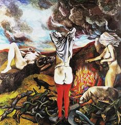 Renato Guttuso Bivouac of Witches