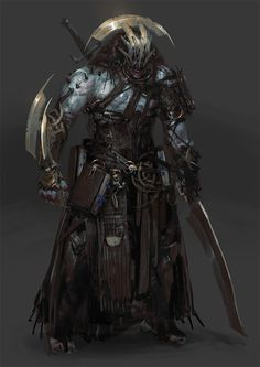 Dark Fantasy Hey all, Here's a collection of personal sketches I've done recently. I had a lot of fun being a bit more dark and painterly. Dark Fantasy Art, Fantasy Rpg, Medieval Fantasy, Dark Art, Arte Horror, Horror Art, Monsters Rpg, Fantasy Warrior, Warrior Angel
