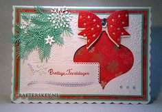 Crafter's Key: 1001 Snowflakes Christmas Card