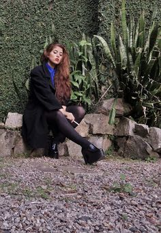 Trench Coat Oversized - Look of the Day   Looking for Bárbara