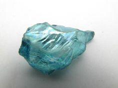 Aqua Aura Ice Blue Quartz Healing Crystal with Beautiful Rainbows 44ct - www.ebay.com/usr/wirewrappedcrystals