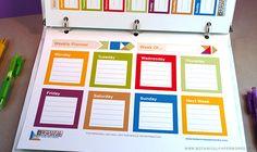 {free printable} 2014 Weekly Planners