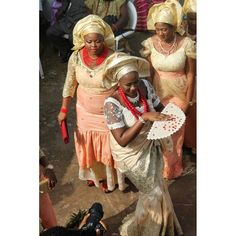 Igbo brides outfits