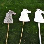 Make a Cardboard Hobby Horse