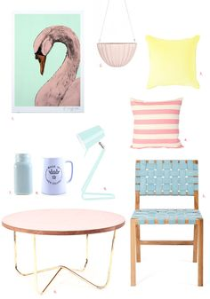 Evie swan, like the colours but not as a theme in room?