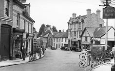 Photo of Bovey Tracey, The Square Devon, Old Photos, Roots, England, Street View, Antique Photos, Vintage Photos, English, Old Pictures