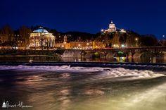 #turin #torino #italy #italia #city #citylife #citycenter #cityscape #centro #centrocitta #città #lightpainting #lights #piazzavittorio #igersitalia #igerstorino #igersphotography #canon #placesofturin #bridge #ponte #po #fiume #river #granmadre #montedeicappuccini #longexposure #cieloazzurro #bluesky #aftersunset