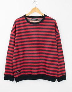 Goldffinch Striped Oversize Erkek Sweatshirt GF1054KZ Sweatshirts, Sweaters, Fashion, Moda, La Mode, Sweater, Fasion, Fashion Models, Sweatshirt