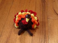 Tom Turkey - free crochet pattern