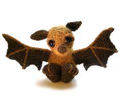 Bat Amigurumi Crochet Pattern PDF Instant by PatchworkMoose