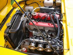 Fiat Sports Car Engine - 1976 Nice fiat photo found on the web