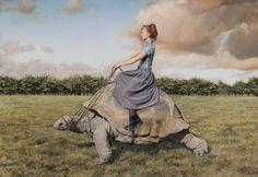 Lisa Adams of Queensland Australia  surreal paintings