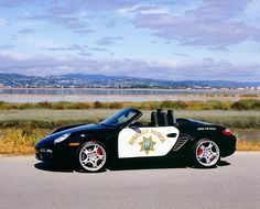 POR 04 02 © Kimball Stock 2005 Porsche Boxster S California Highway Patrol Car Front View By Marsh Police Cars, Police Officer, Police Vehicles, Emergency Vehicles, Boxster S, Porsche Boxster, California Highway Patrol, Los Angeles Police Department, Law Enforcement Agencies
