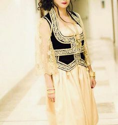algerian bride dress
