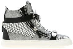 Giuseppe Zanotti high top trainer sur shopstyle.fr