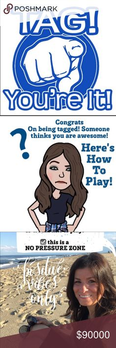 Find new 👫👉🏼🆕🔵 + 💕🔀💕 = 👫👉🏼🆕🔵💕🔀💕=🏆 Would you LOVE TO BE TAGGED?!  Comment TAG ME! Free and unlimited tagging is still welcomed and encouraged.  Sharebacks not required; play it forward .... as often as you'd like!!  See comments for current players!!  Wanna play?  Comment tag me - or please find new players to join!  Happy Hump Day!! Other