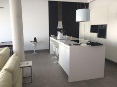 Zona integrada cocina-comedor-salón