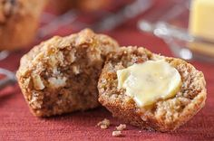 It's National Apple Month—whip up Organic Valley's Apple Oatmeal Muffins for a sweet breakfast or wholesome dessert!