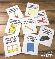 These centers cover addition, subtraction, place value, graphing, measurement, telling time, fractions, and problem solving.  Haven't covered some of these skills yet?  No worries!  The centers are non-seasonal, so you can use them any time of the year! $