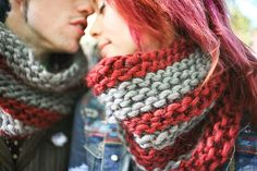 Ravelry: A Disgustingly Adorable Cowl pattern by Sylvia Bo Bilvia