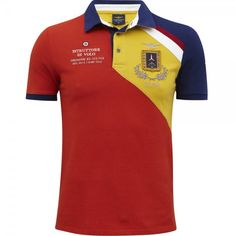 iconic aeronautica militare polo shirt for real AM lovers! Polo Shirt Style, Polo Shirt Design, Polo Rugby Shirt, Polo T Shirts, Camisa Polo, Polo Fashion, Polo Ralph Lauren Kids, Bowling Shirts, Trieste