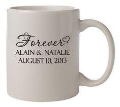 mugs favors