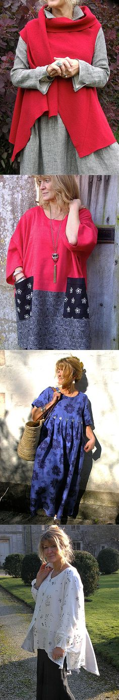 Интеллектуальное бохо для взрослых женщин от Terry Macoy.   Мода   Постила