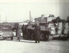 Los alemanes concentran sus fuerzas y traen nuevos materiales en este frente