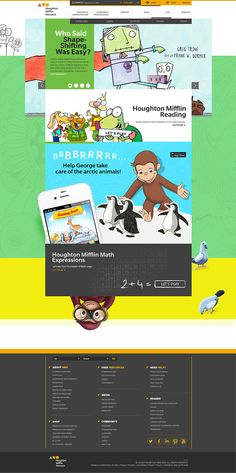 HMH - Houghton Mifflin Harcourt (COPY) on Behance