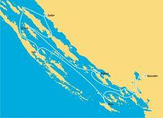Rejsy Chorwacja - trasy | GlobTourist