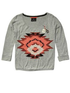 Lightweight knitted sweater with ikat motif - combo A - 4