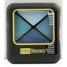 Black Radiance Eyeshadow Quartet - Retro Chic - 8805 *** Details can be found by clicking on the image. (This is an affiliate link and I receive a commission for the sales) #EyeMakeup