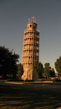 Leaning Tower of Niles, Chicago IL water tower