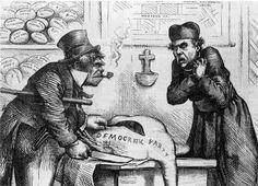 The simian negroid Irish depicted in English and American cartoons - Flashbak American Cartoons, 90s Cartoons, Political Cartoons, Political Art, American History Lessons, Native American History, British History, History Cartoon, Santa Claus Images