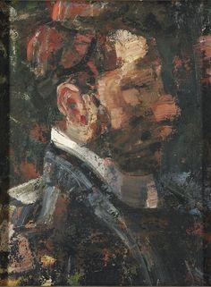 Paul Klee, reminiscent of Kokoschka